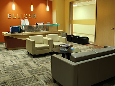 Image of ELLICSR's reception area