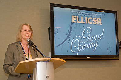 Image from Grand Opening of ELLICSR