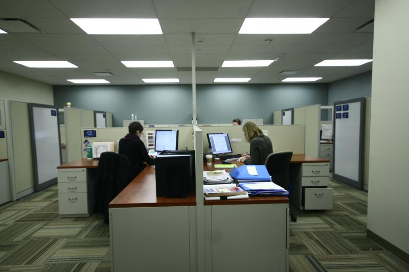 This is an image of the research space at ELLICSR.