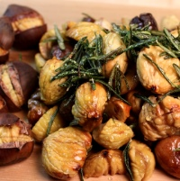Image of Honey Spiced Roasted Chestnuts recipe