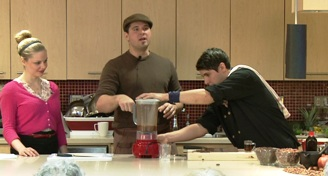 Image of Michael Sacco guest hosting the ELLICSR Kitchen class