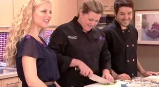 Image of Shannon Brubacher guest hosting the ELLICSR Kitchen class