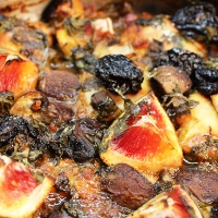 Image of Hunter's Chicken with Prunes & Soffritto recipe