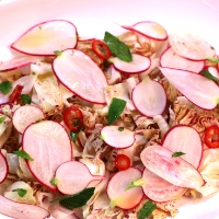 Image of Radish Salad with Lemongrass Dressing