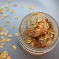 Image of Banana Oatmeal Ice Cream (Dairy Free) recipe