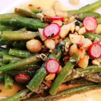 Image of Green Bean Salad with Macadamia and Miso