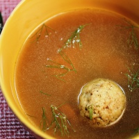 Image of Turkey Matzo Ball Soup recipe
