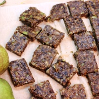 Image of Spiced Pear and Fig Squares