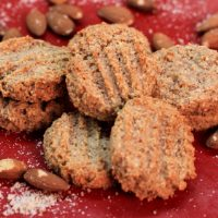 Image of Almond Ginger Cookies recipe