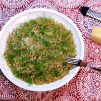 Image of Caramelized Onion and Buckwheat Risotto recipe
