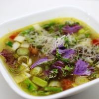 Image of a bowl of Spring Minestrone