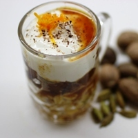 Image of a Spiced Date Parfait