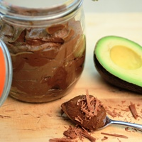 Image of helen's chocolate avocado pudding