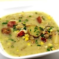 Image of New England 'Clam Bake' Chowdah.