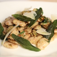 Image of butter bean salad