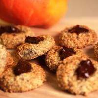 Image of Maple & Pumpkin Almond Cookies.
