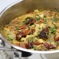 Image of turkey curry.