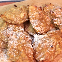 Image of apple ricotta fritters