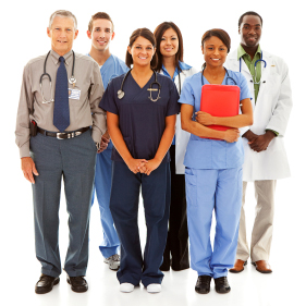 Image of a group of medical professionals