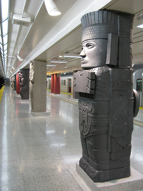 Image of Museum subway station in Toronto