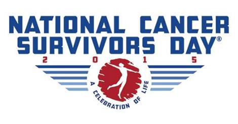 Image of the National Cancer Survivors Day 2015 logo